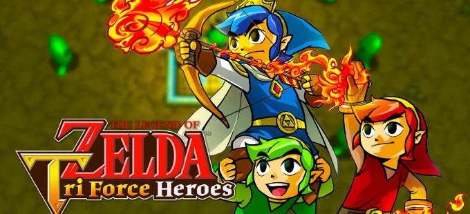 El multijugador en línea de TLOZ: Tri Force Heroes tiene bloqueo de región