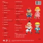 EarthBound - Parte de atrás del álbum