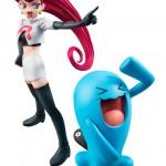 Jessie y Wobbuffet del Team Rocket de Pokémon