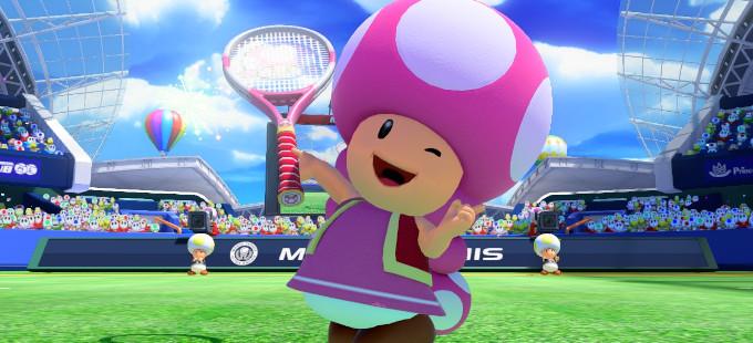 Mario Tennis: Ultra Smash - Toadette