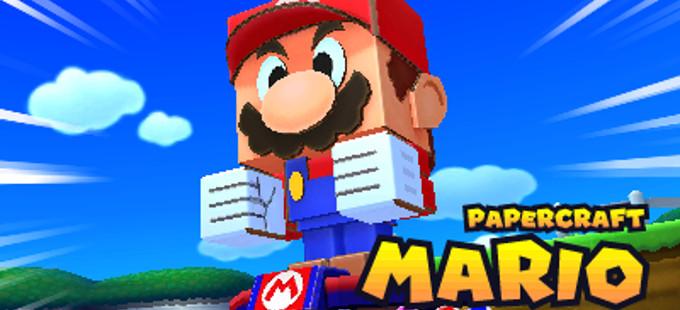 Mario & Luigi: Paper Jam - Papercraft Mario