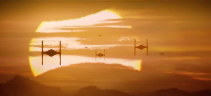 Star Wars: The Force Awakens - Tie Fighters