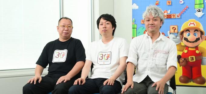 Takashi Tezuka y compañia hablando de Super Mario Maker