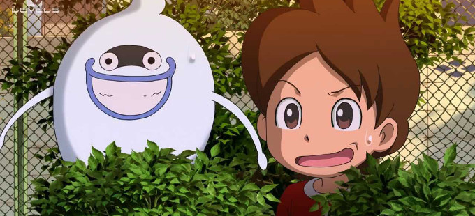Yo-Kai Watch - Whisper y Natham Adams