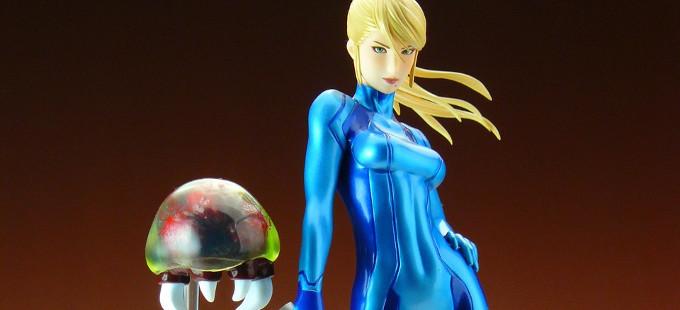 Figura de Zero Suit Samus de Metroid: Other M