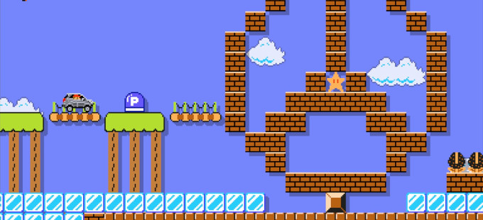 Mercedes-Benz llega a Super Mario Maker