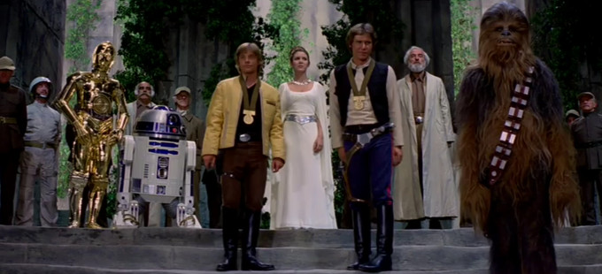 Star Wars Episode IV: A New Hope - The Throne Room