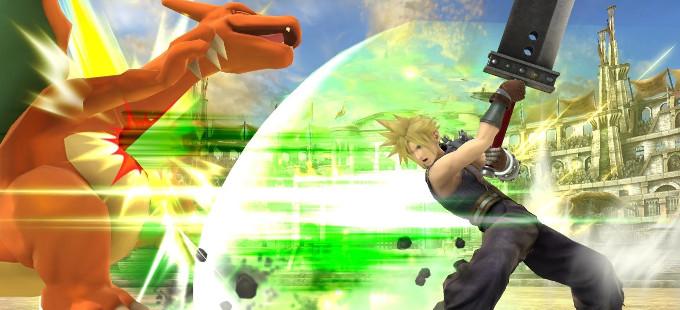 Super Smash Bros. para N3DS y Wii U - Charizard vs. Cloud