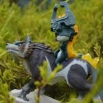 amiibo Wolf Link y Midna