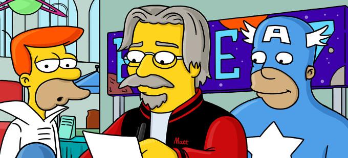El creador de Los Simpson, Matt Groening, podría trabajar en una nueva serie