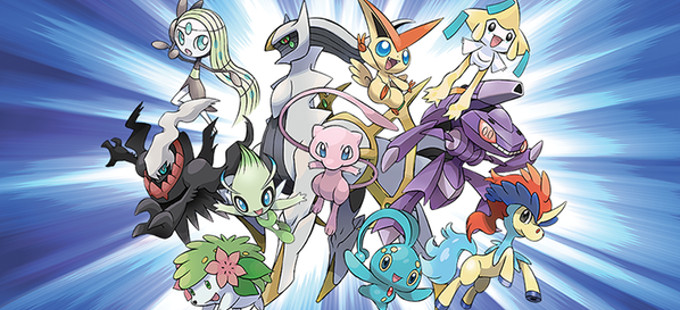 Mythical Pokémon para conmemorar los 20 años de Pokémon