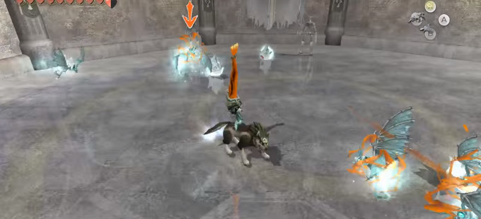 The Legend of Zelda: Twilight Princess HD - Cave of Shadows