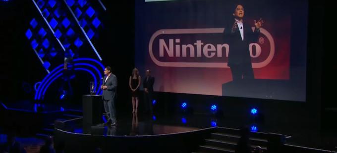 Satoru Iwata, homenajeado en los D.I.C.E. Awards 2016