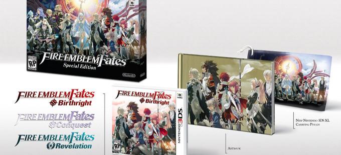 Mirando a fondo la Fire Emblem Fates Special Edition