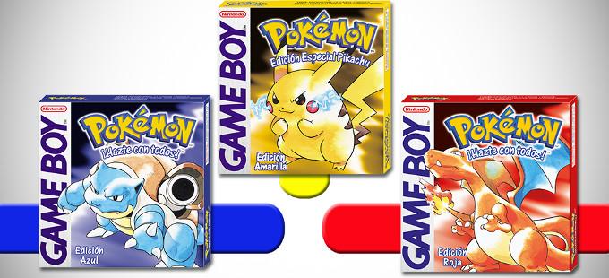 Pokémon Red, Blue y Yellow estarán en español en la eShop