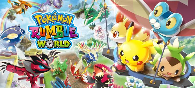 Pokémon Rumble World saldrá en formato físico en América