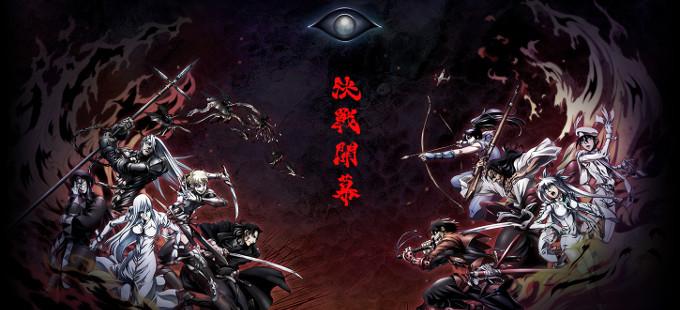 El anime de Drifters, del creador de Hellsing, se estrena este año