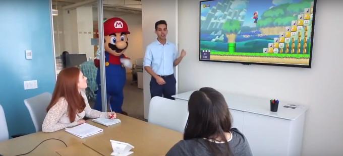 ¡Feliz MAR10 Day nos desea Nintendo!
