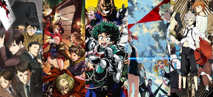 Guía de Primavera del Anime 2016
