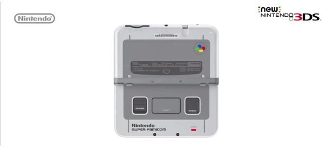 Nuevo New N3DS XL con aspecto de Super Famicom para Japón