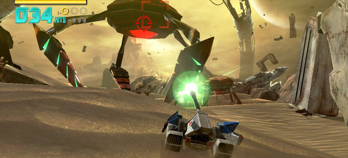 Mira en acción a los vehículos de Star Fox Zero