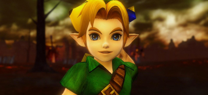 Huevo de Pascua - Toca la ocarina en Hyrule Warriors Legends
