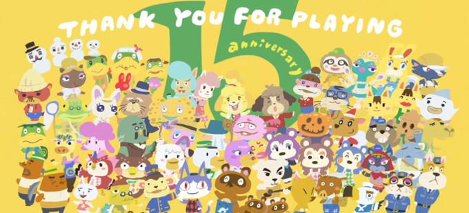 Nintendo celebra el 15 aniversario de Animal Crossing