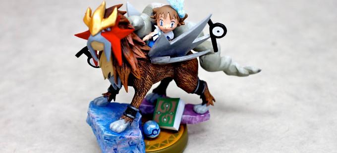Otro amiibo más, esta vez de Entei y Molly de Pokémon
