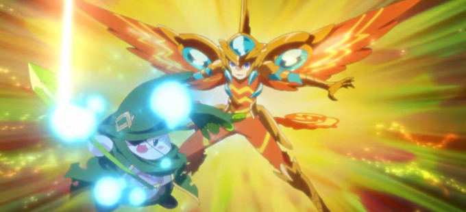 Un vistazo animado a Puzzle & Dragons X