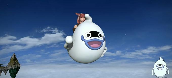 ¡Que loco, Yo-Kai Watch x Final Fantasy XIV!