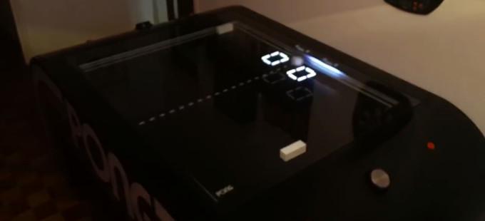 Una nueva y asombrosa versión mecánica de Pong