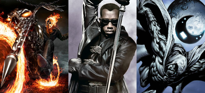 [Rumor] Series de Blade, Ghost Rider y Moon Knight en Netflix