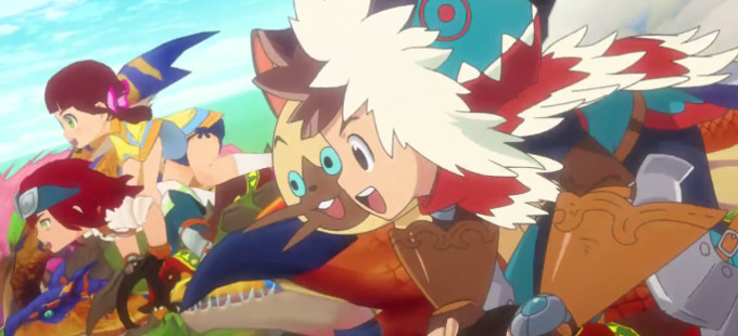 Primer vistazo al anime Monster Hunter Stories RIDE ON