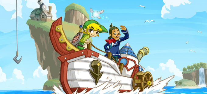 The Legend of Zelda: Phantom Hourglass llega a la eShop de Wii U