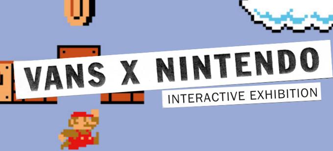 La Vans x Nintendo Collection sale a la venta en junio