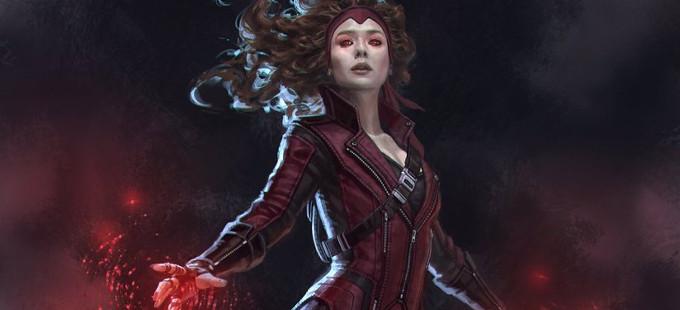 Así se habría visto la Bruja Escarlata en Capitán América: Civil War