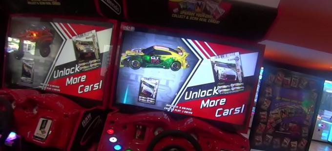 Primer vistazo en acción a la arcade de Cruis'n Redline