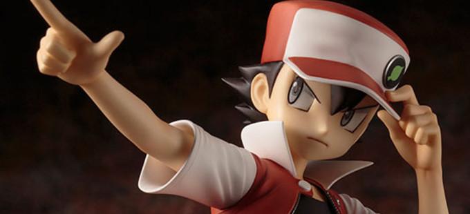 Lista para reserva la figura de Red y Pikachu de Pokémon