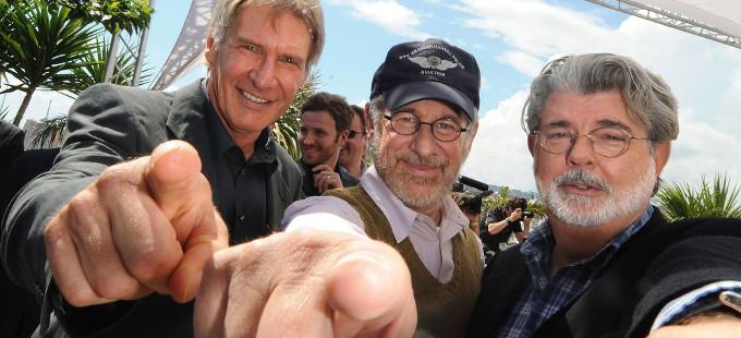 George Lucas participará en Indiana Jones, dice Steven Spielberg