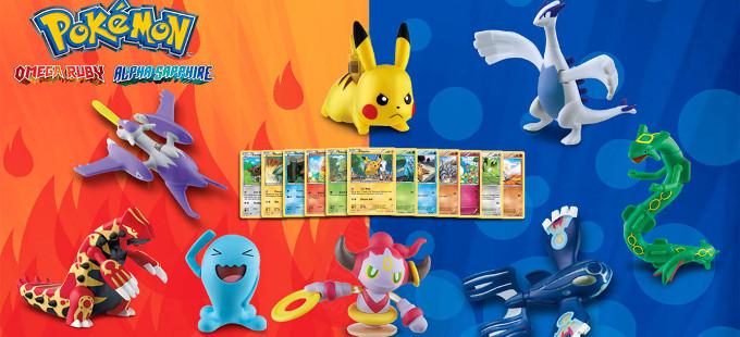 Más juguetes de Pokémon de la Cajita Feliz en Latinoamérica