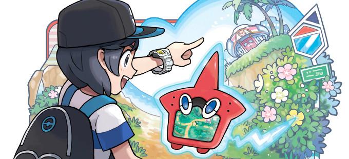 10 interesantes novedades de Pokémon Sun y Moon