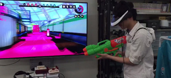 ¡Hey! ¿Eso es Splatoon con Realidad Virtual?