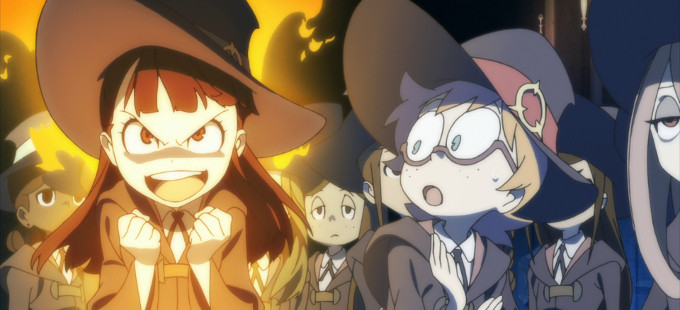 El anime de Little Witch Academia llegará a Netflix