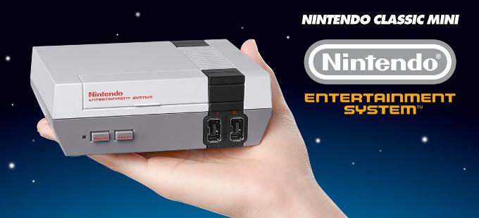 Revive tu niñez con el NES Classic Edition de Nintendo