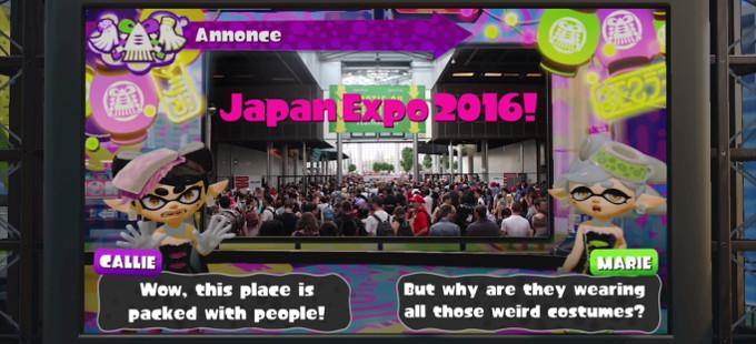 Goza del nuevo concierto de Splatoon en la Japan Expo 2016