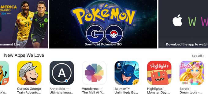 Pokémon GO rompe otro récord, revela Apple