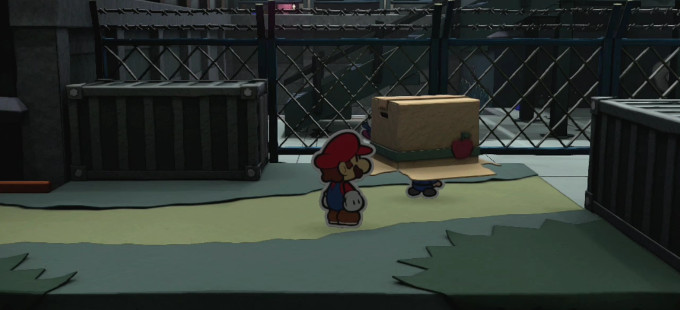 Un guiño a Metal Gear Solid en Paper Mario: Color Splash