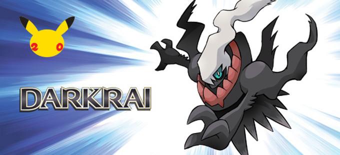 Descarga al pokémon Darkrai en septiembre