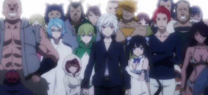 Mucho fanservice en la nueva OVA de DanMachi