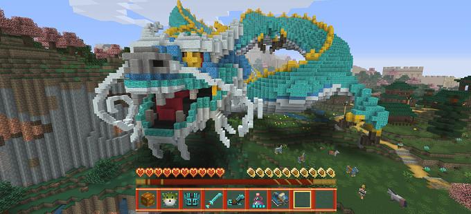 La antigua China florece en Minecraft Wii U Edition